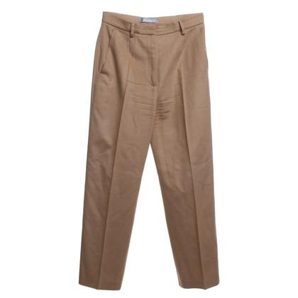 Max Mara pantaloni di lana in beige