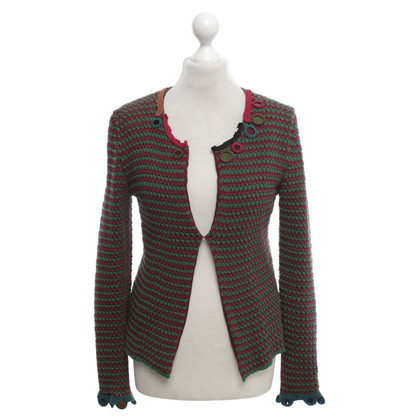Prada Blazer with knit pattern
