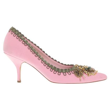 Miu Miu pumps in pink