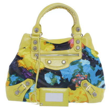 Balenciaga Handbag with a floral pattern