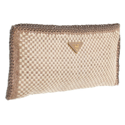 Prada clutch in Beige