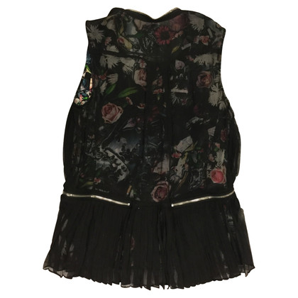 McQ Alexander McQueen top in seta