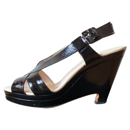 Jil Sander Lackleder-Wedges