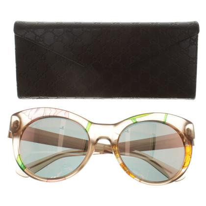 Gucci Sonnenbrille mit Print