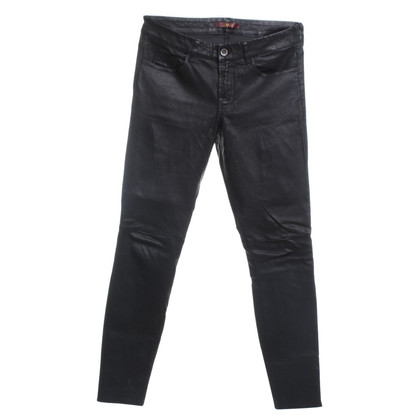 7 For All Mankind Leather pants in black