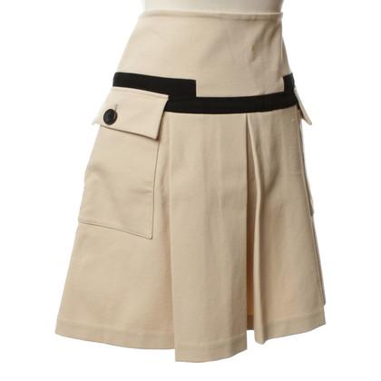 Diane von Furstenberg skirt with beige details