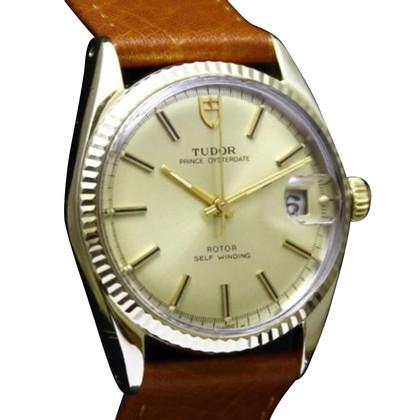"""Tudor """"Date de l'huître 14K / Acier"""""""