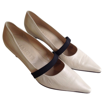 Jil Sander Pumps in Creme
