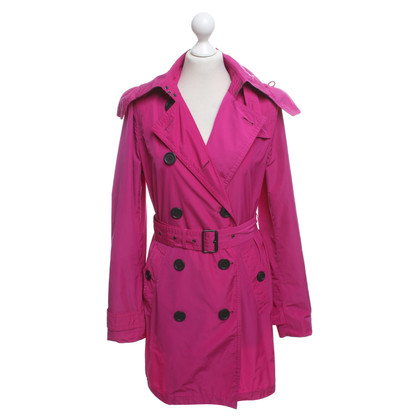 Burberry Trench in fucsia