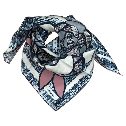 fa66aa43d06 Chanel silk scarf - Second Hand Chanel silk scarf buy used for 305 ...