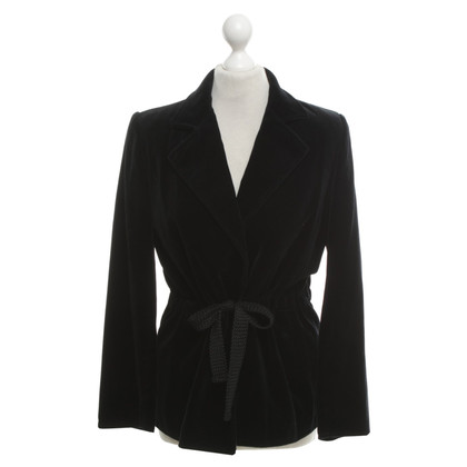 Givenchy Velvet blazer in zwart