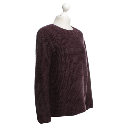 Antonia Zander Cashmere sweater in violet