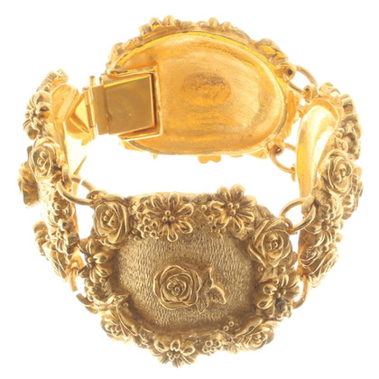 Emanuel Ungaro Gold colored bracelet