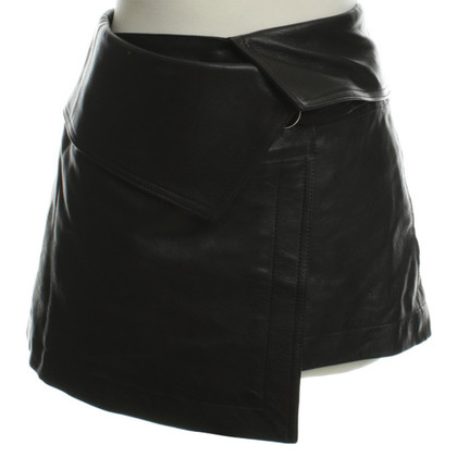 Isabel Marant Leather mini skirt