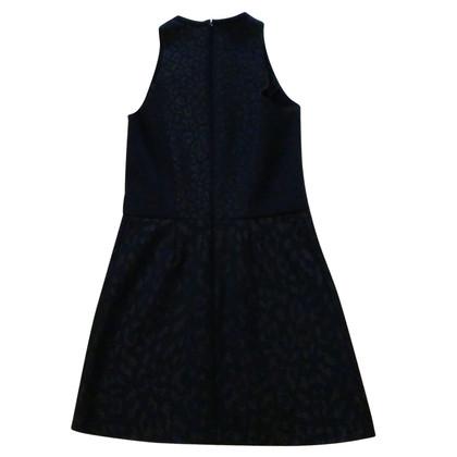 Maje Zwart Mini jurkje