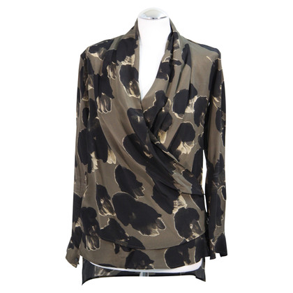 All Saints Zijden blouse met patroon