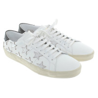 Saint Laurent Sneakers in white