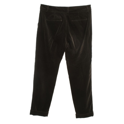 Etro Velvet trousers in dark brown