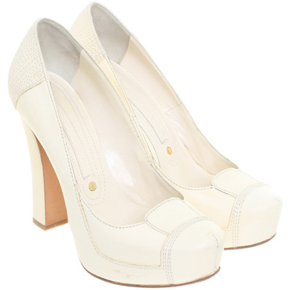 Gianmarco Lorenzi pumps altopiano in crema