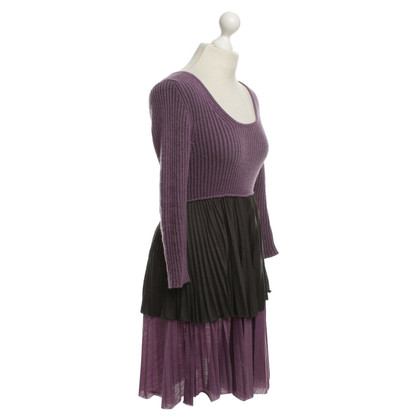 Missoni Dress in Purple / Black