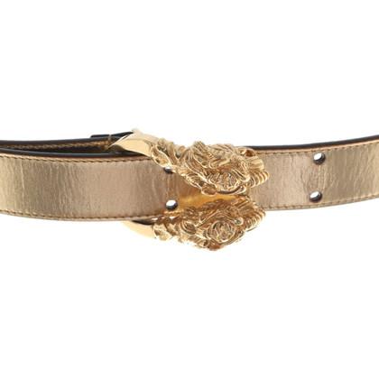 Christian Dior Cintura color oro