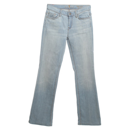 7 For All Mankind Jeans light blue