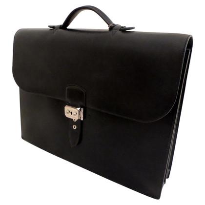 """Hermès """"Dépêches à Sac"""" in zwart"""