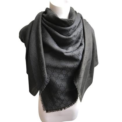 Gucci Guccissima cloth silk / wool