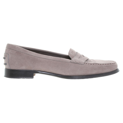 Tod's Slipper in Taupe
