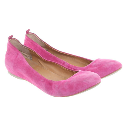 J. Crew  Ballerinas in pink