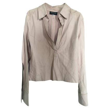 Patrizia Pepe leder blouse
