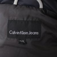 Calvin Klein Gilet en duvet bleu-noir