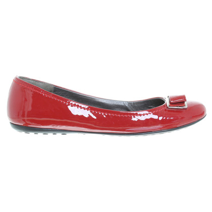 Andere Marke Car Shoe - Slipper in Lackleder-Optik