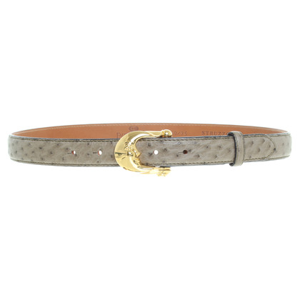 Fausto Colato Different types of leather belt set
