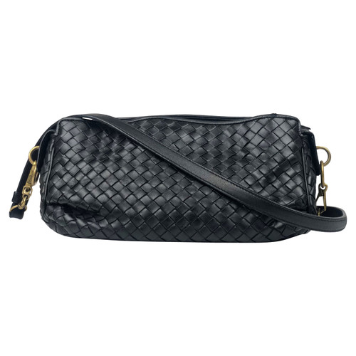 comprare on line c5d7a 3b1e7 Bottega Veneta Borsa a tracolla in Pelle in Nero - Second ...