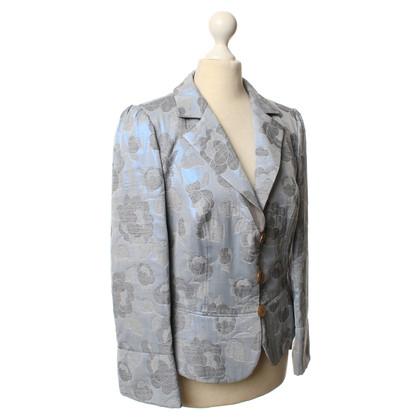 Armani Collezioni Blazer with a floral pattern