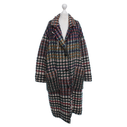 Isabel Marant Coat with web pattern
