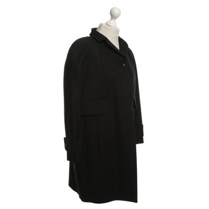 Carven Katoenen jas in zwart