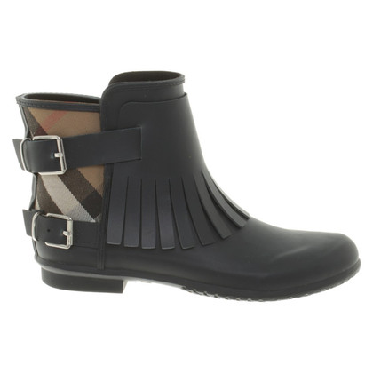 Burberry Gummistiefel in Blau