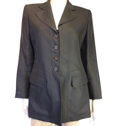 Hermès blazer di lino lunghe