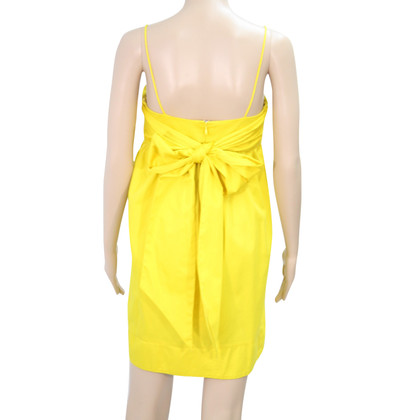 French Connection vestito giallo