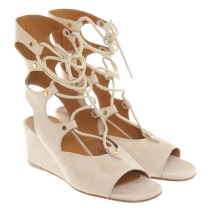 Chloé Sandaletten in Beige