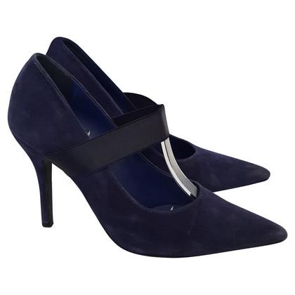 Jil Sander pumps in blauw
