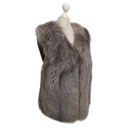 By Malene Birger Vest with Fox Fur