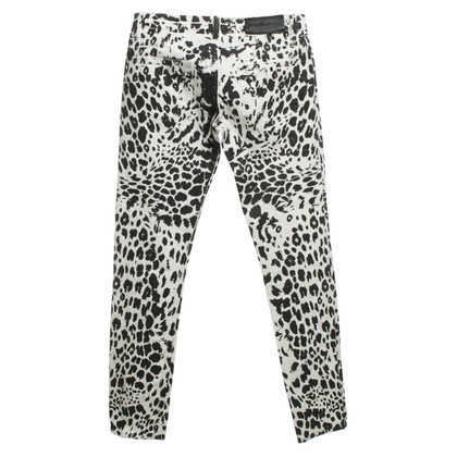 Pierre Balmain Jeans mit Animalprint