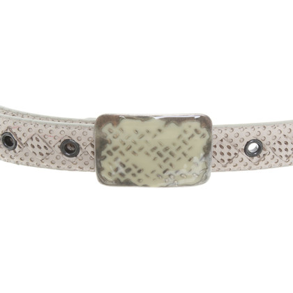 Bottega Veneta Belt in white
