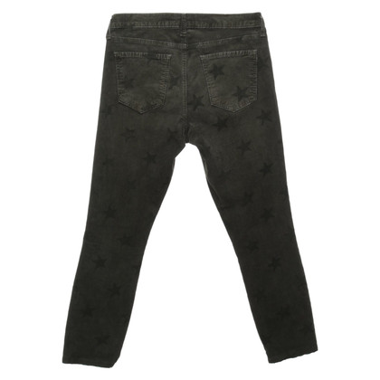 Current Elliott Cord-trousers with print