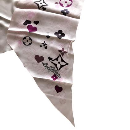 Louis Vuitton Sciarpa seta vuitton