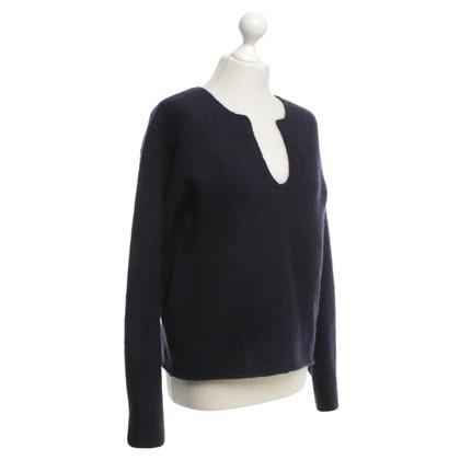 Rika Gebreide trui in donkerblauw