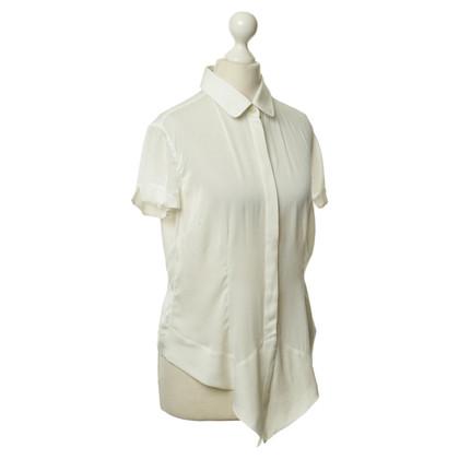 Dolce & Gabbana Short sleeve blouse in cream